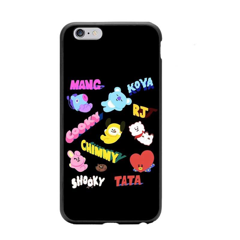 new arrival 9af75 211c6 ♥ BTS BT21 Character Phone Case
