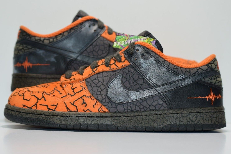 premium selection ed620 cb18b Size 11  2006 Nike Dunk Huf Quake Orange Blaze 314771-801