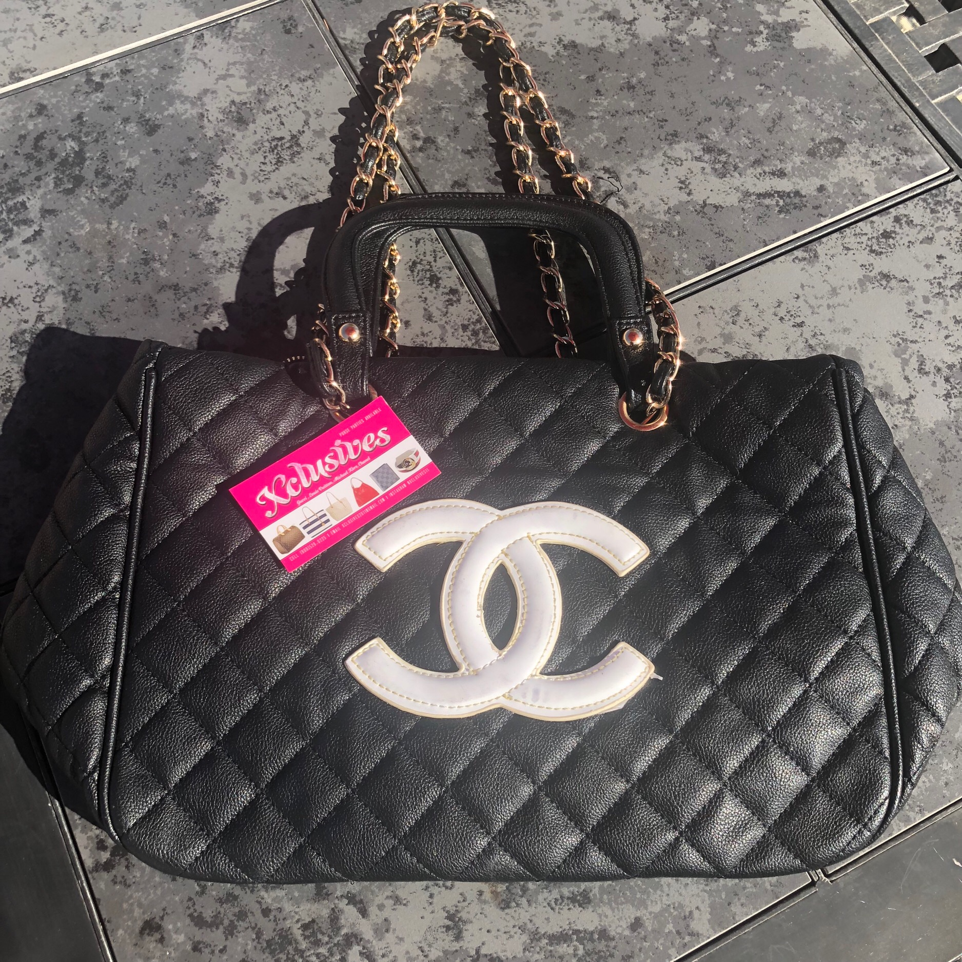 763b2cd2a7ac Chanel purse w/ gold chain · Xclusives · Online Store Powered by ...