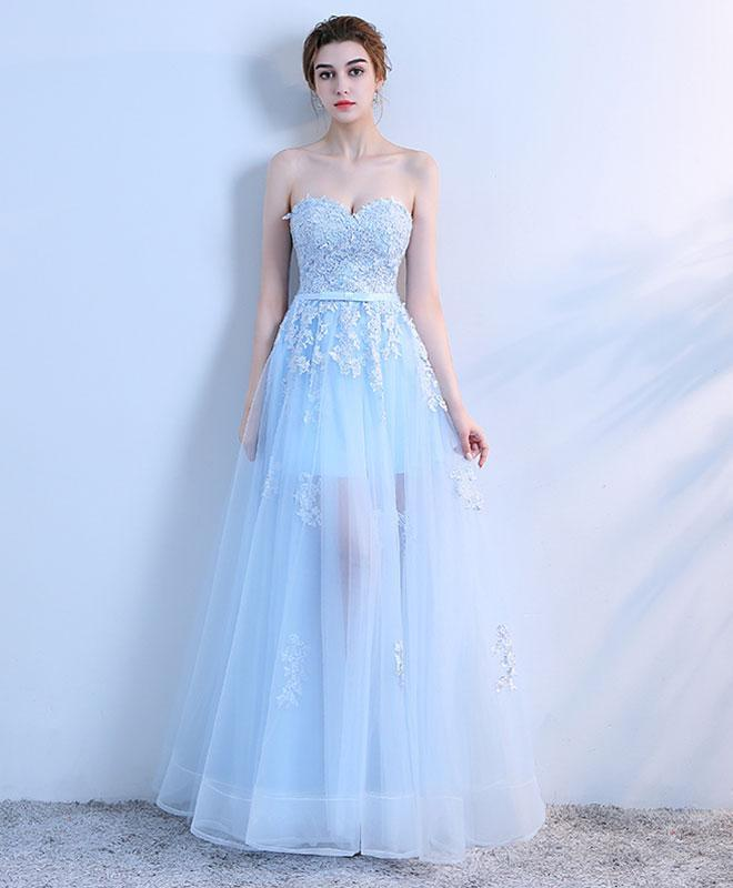 62caf0651 Charming Prom Dress,Tulle Prom Dress,Appliques Pom Dress,Sweetheart Prom  Dress P960