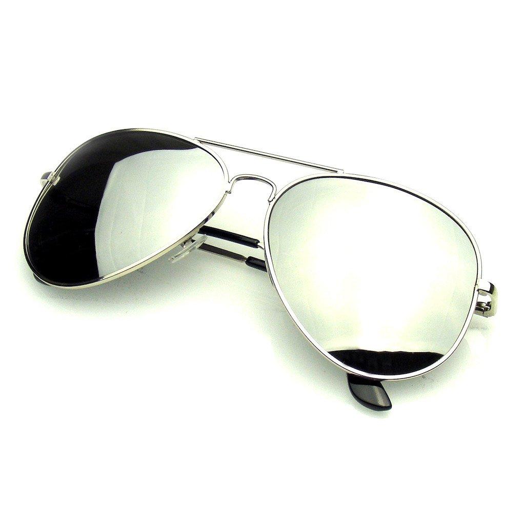 d65e5ff09 Emblem Eyewear - Polarized Full Mirror Aviator Sunglasses · Emblem ...