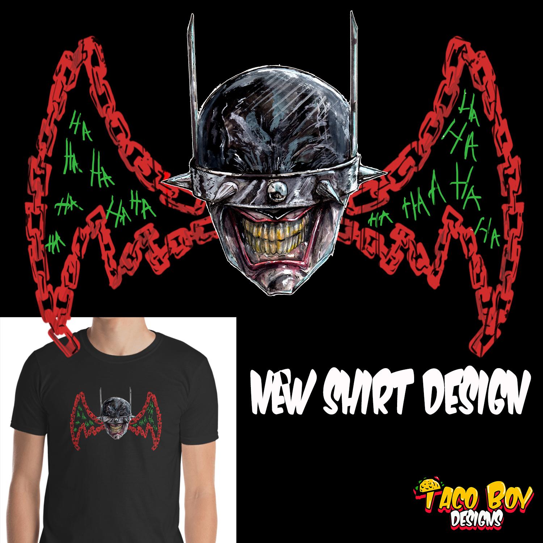 00bbb469a8b The Batman Who Laughs Shirt · Taco Boy Designs · Online Store ...