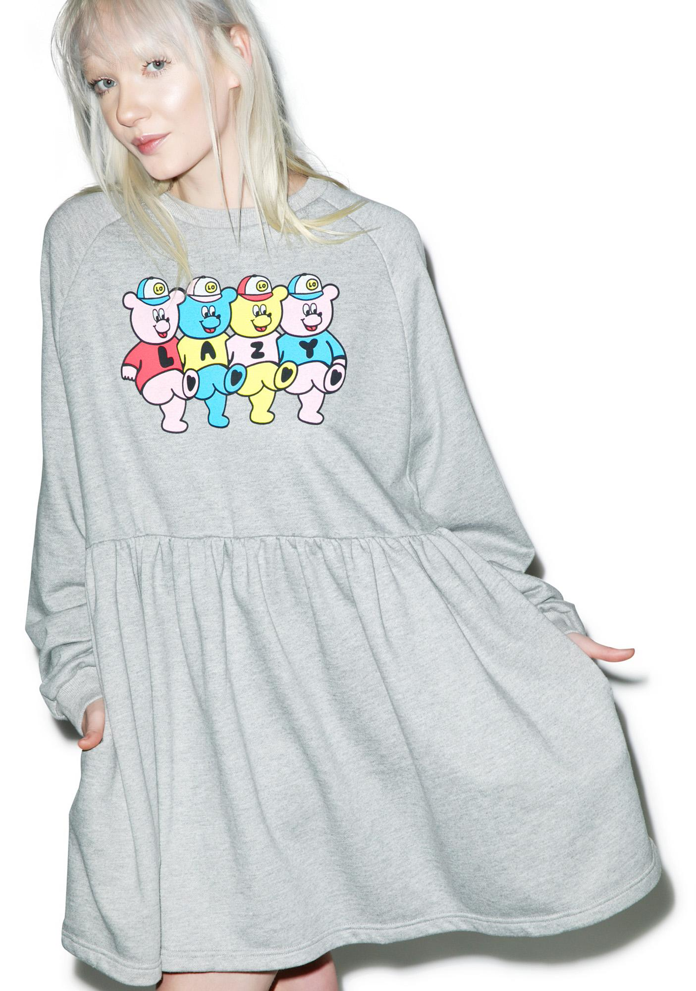 68ba59c3341 Genuine Lazy Oaf Bear Dress on Storenvy