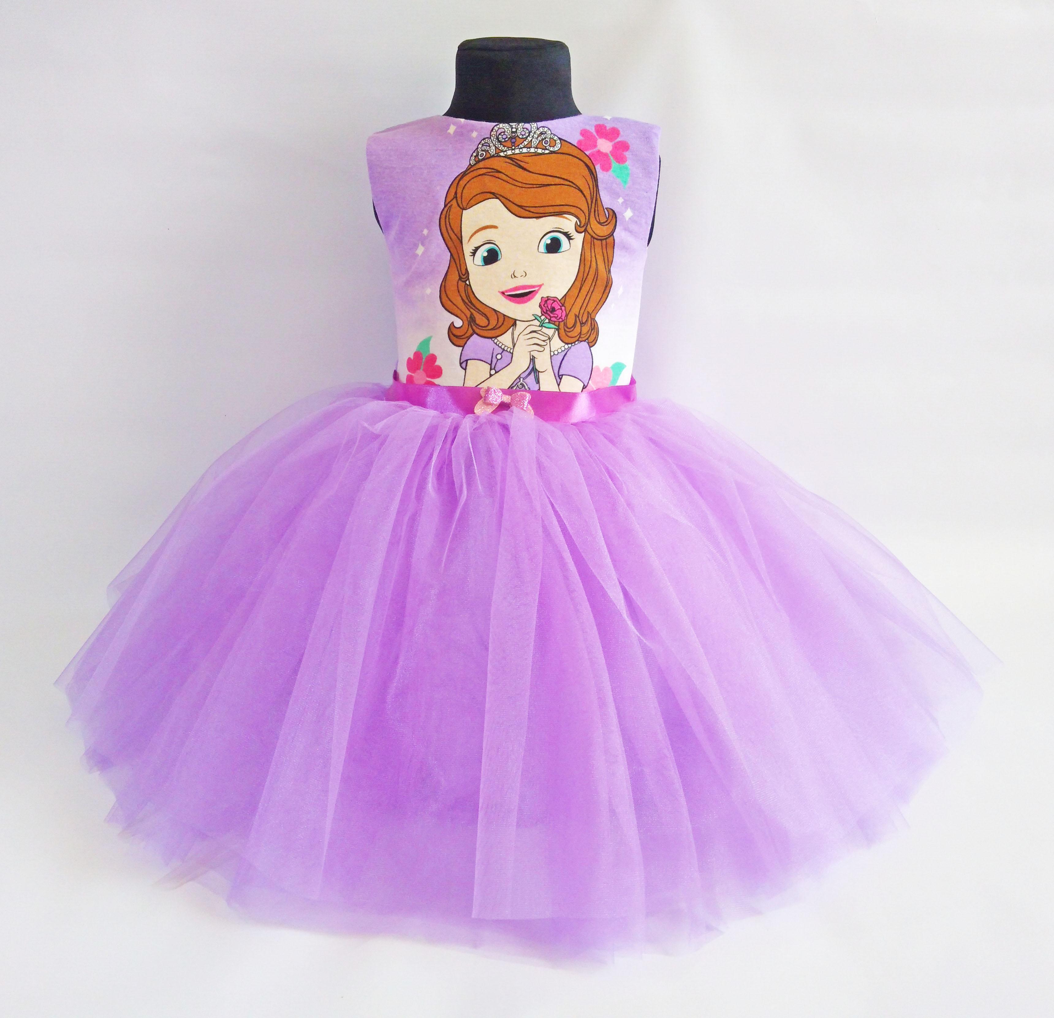 6d8ddfe1cc Princess Sofia Gentle Lavender Tutu Dress · SugarShopDress · Online ...