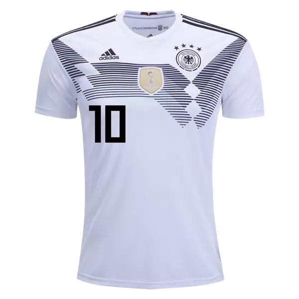 promo code 92253 c1b92 Mesut Ozil #10 Germany National Team Home Soccer Jersey,Deutschland Men's  Stadium Shirt White from HoHo Jersey Collection