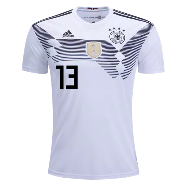 dbdaa7247cf Thomas Muller  13 Germany National Team Home Soccer Jersey ...