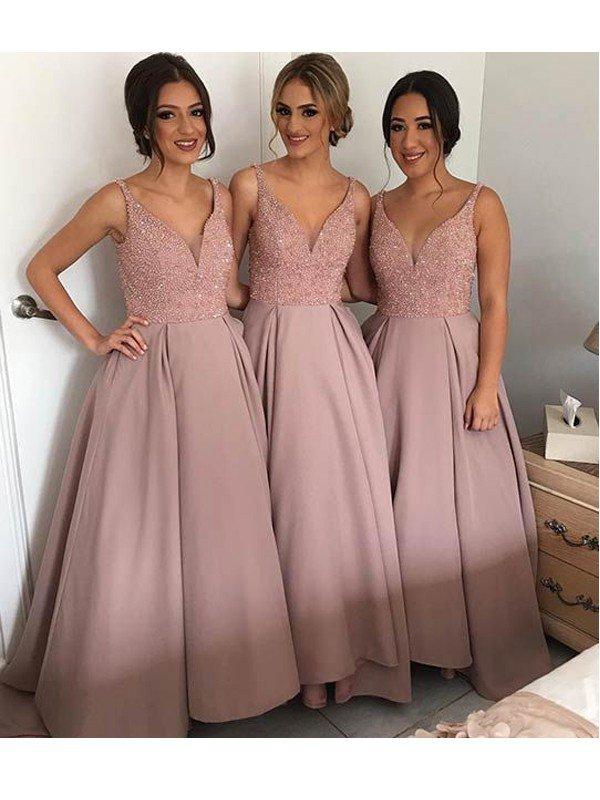 74191ddb51 A line bridesmaid dresses
