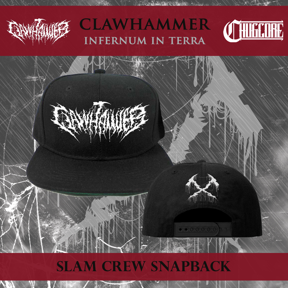 64db7f6b469 Clawhammer - Slam Crew Snapback · Chugcore · Online Store Powered by ...