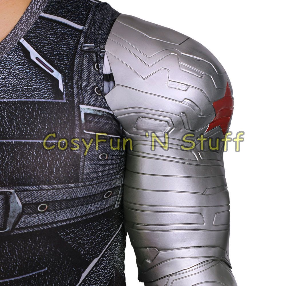 Winter Soldier Bucky Barnes Armor Arm from Captain America 3 Civil War  Cosplay from CosyFun 'N Stuff