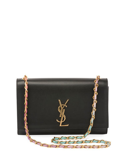 cd5c42c8114 Saint Laurent Kate Medium Tie-Dye Leather Chain Shoulder Bag ...