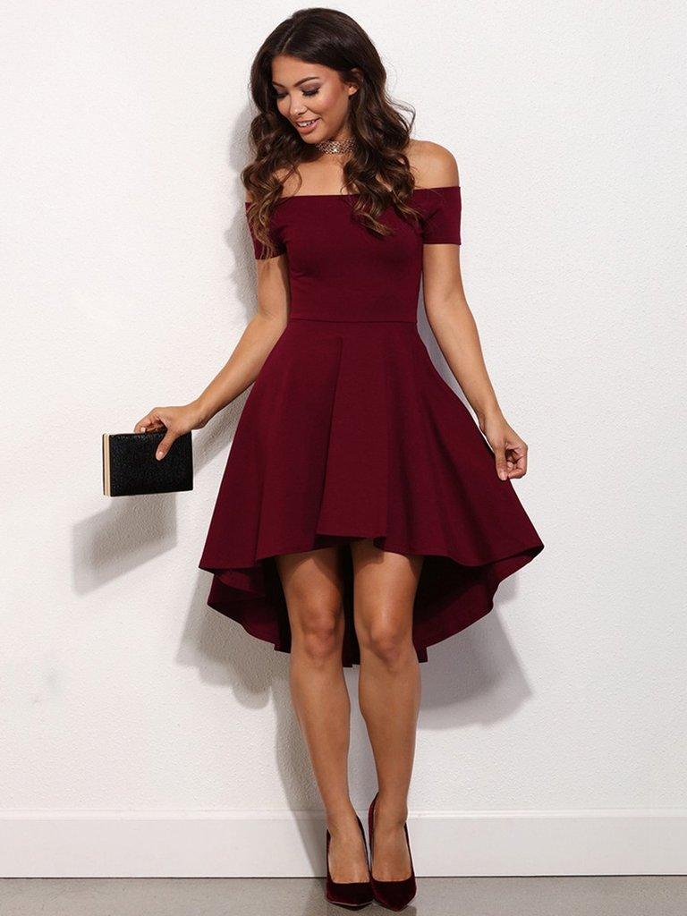 Off Shoulder Formal Dresses
