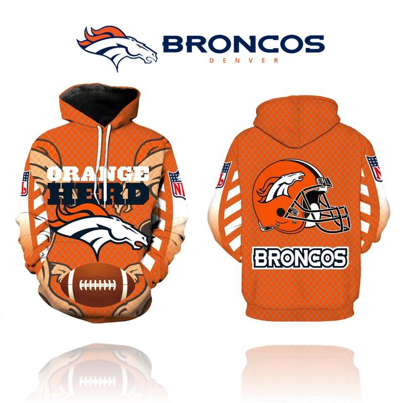 Denver Broncos NFL Football Sports Hoodie New Season on Storenvy a086bec51