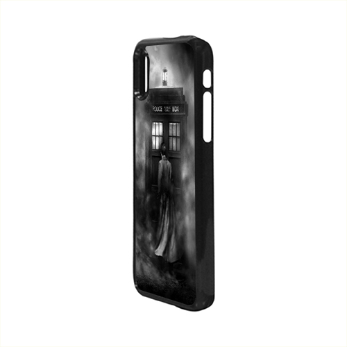 new arrival 9861f 349ea Dr Who Tardis British Police Box Case For iPhone X Case from Guemboel