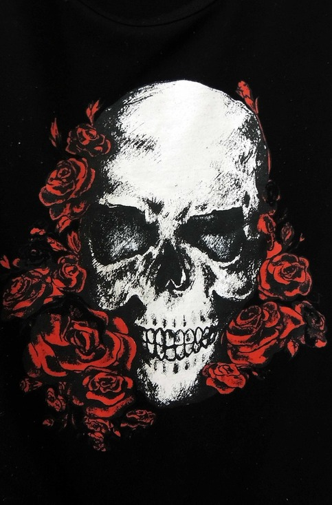 Gothic Skull Rugby Tee On Storenvy