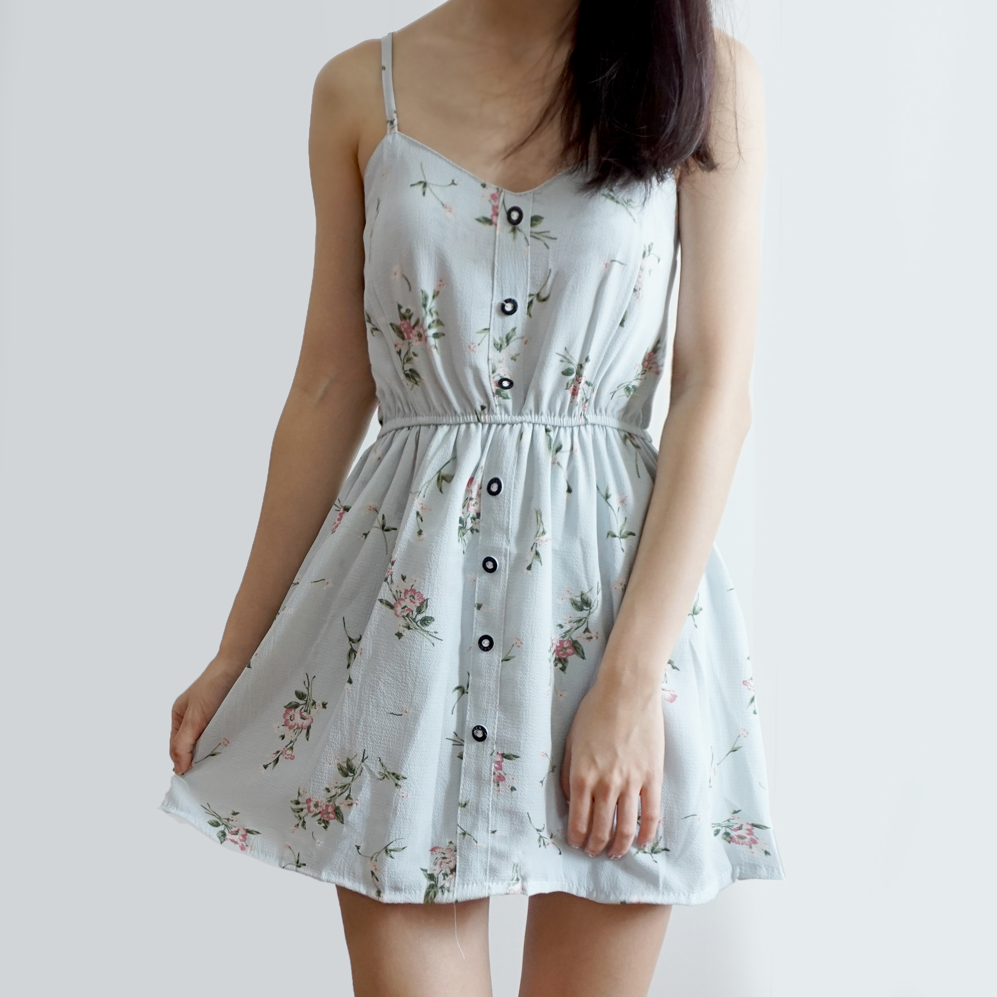 23b15be80 Ditsy Floral Button Up Romper (4 Colors) · Megoosta Fashion · Free ...