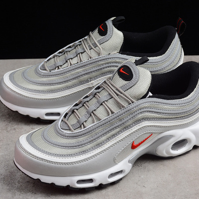34941f02074 Nike air max plus 97 tn ultra men s silver running shoes