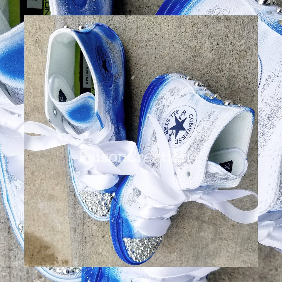 e763ccac6d64 Tie Dye Custom Converse · FaisonCreations · Online Store Powered by ...