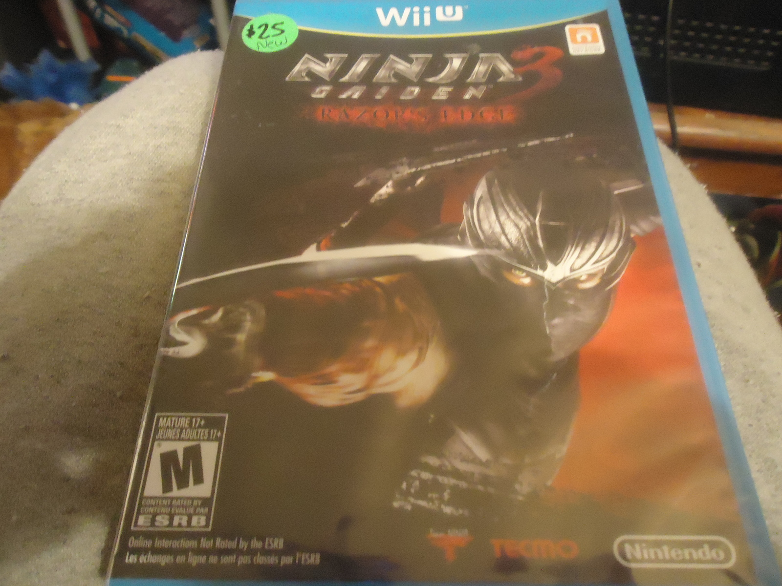 Ninja Gaiden 3 Razor S Edge Wii U New Mariosgamechop Online Store Powered By Storenvy