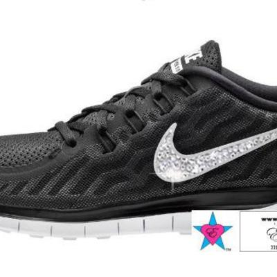 3afc7a7b1d1ab  175.00 Custom Wolf Gray Cheetah Zebra Brown Cheetan Nike Roshes · Custom  rhinestone women free 5.0 2015 women s black dark grey