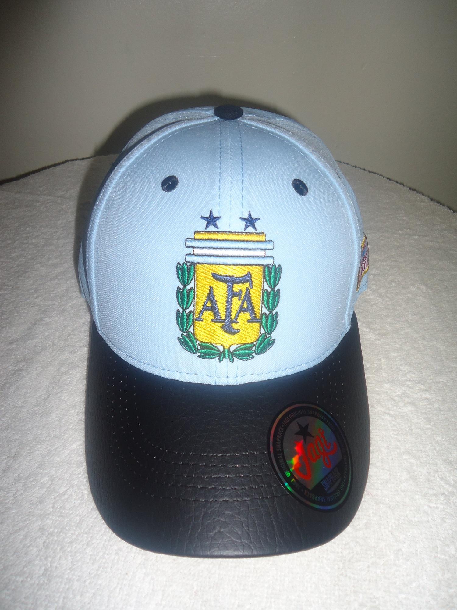 5814fa891a6 Argentina FIFA World Cup Russia 2018 soccer Hat Cap · SportsMegas ...