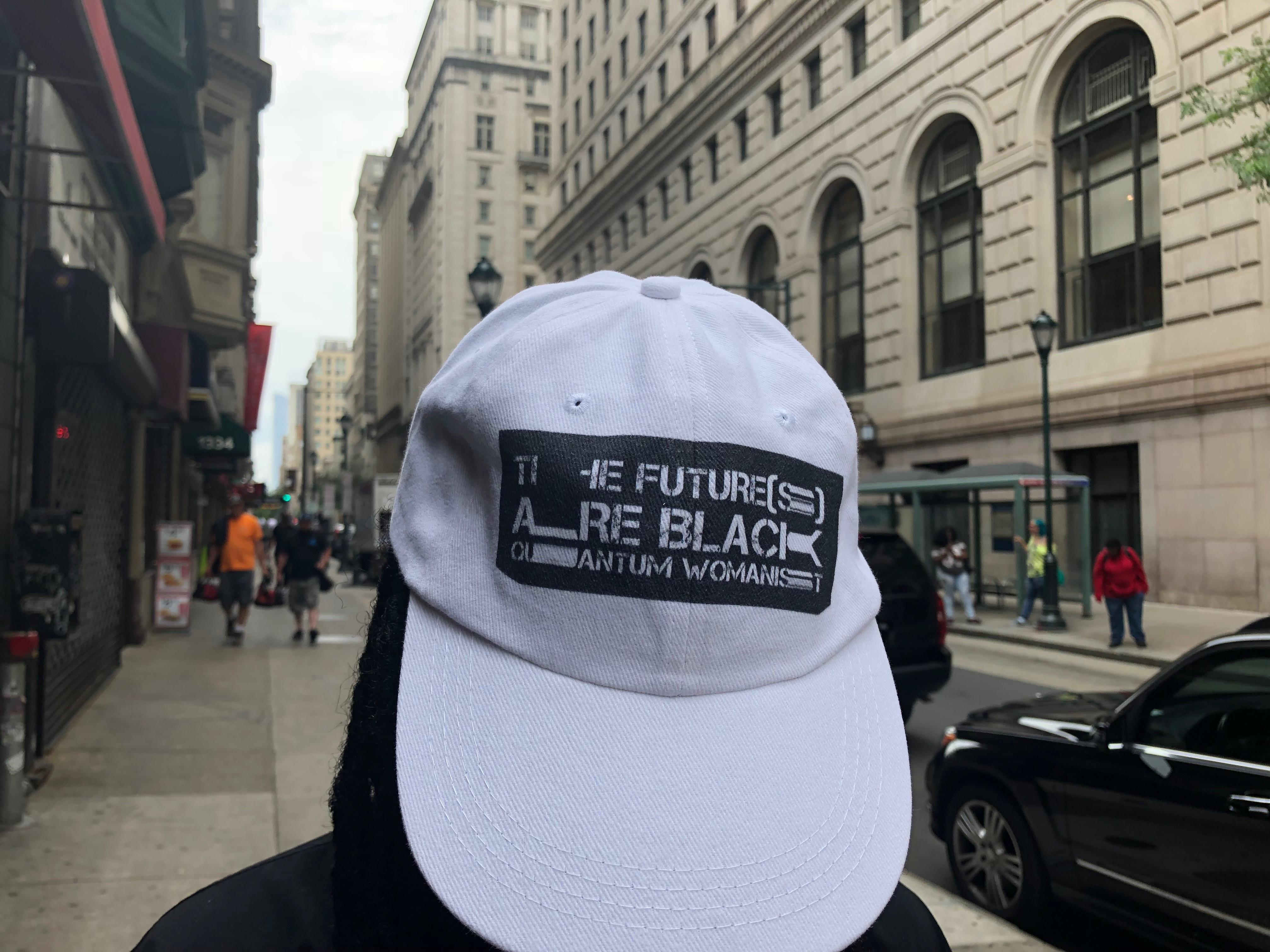 Black Quantum Womanist Futures Dad Hat · House of Future Sciences ... c564d9ec6be