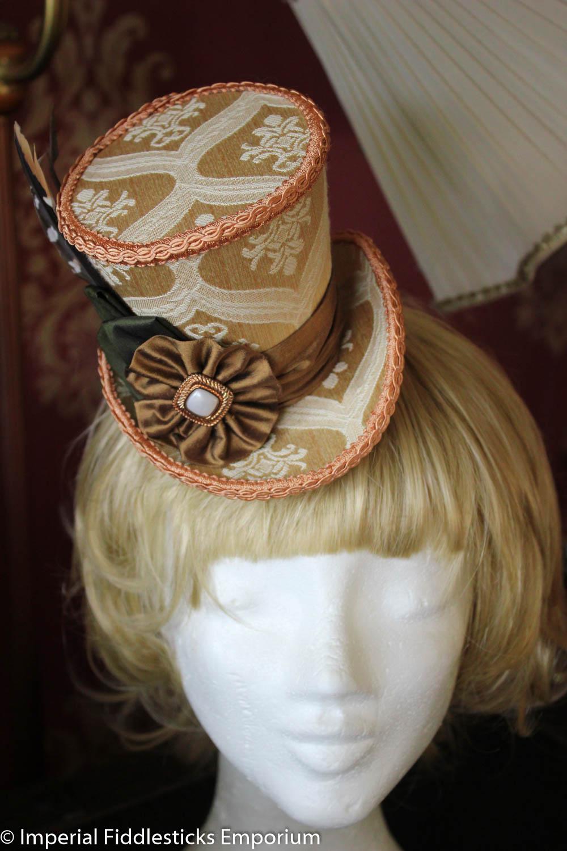 The Royal Hoot - Mini Wonky Top Hat · Imperial Fiddlesticks Emporium ... f22e6b918a5