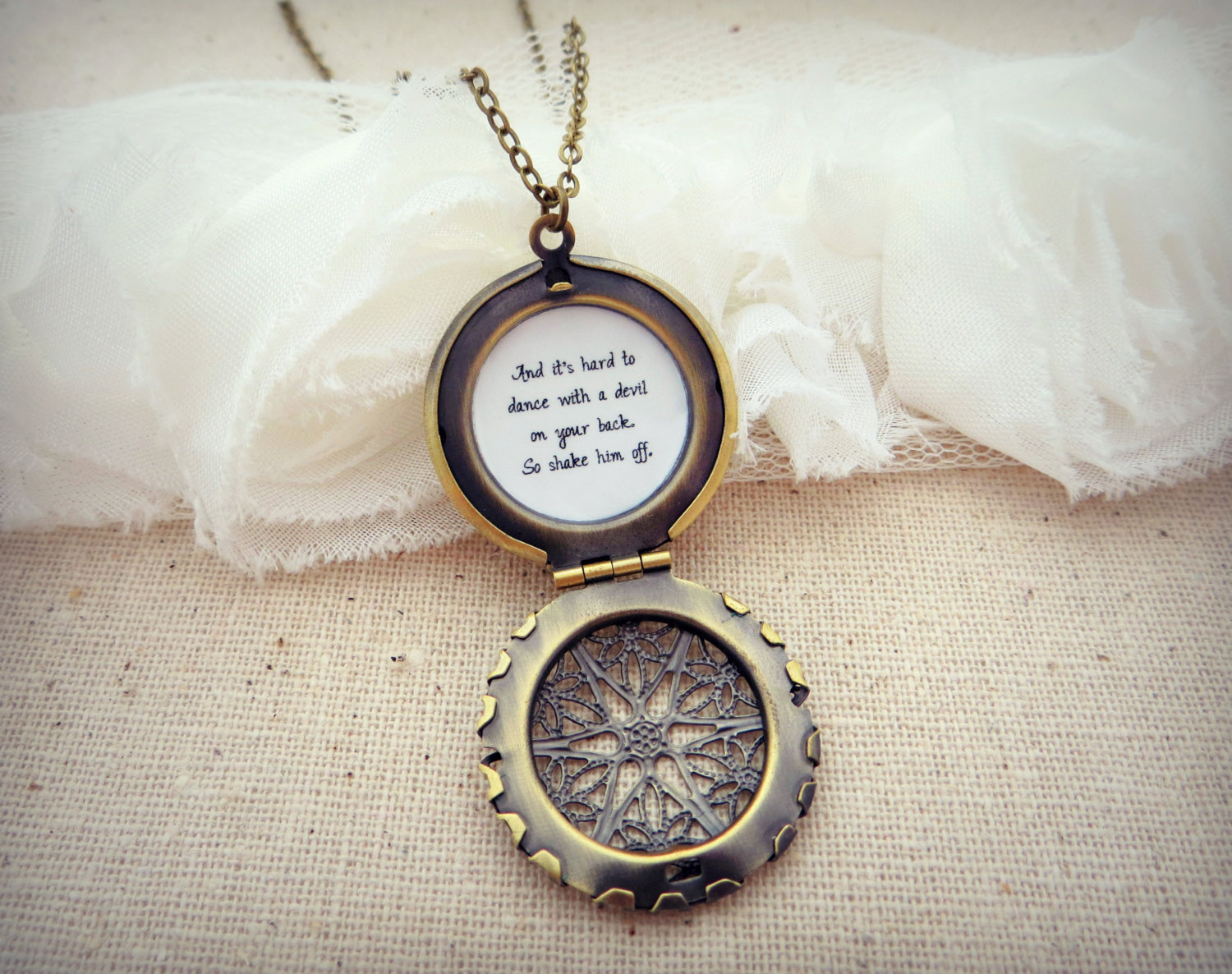 sweet etched circle necklace simply studio necklaces lockets round gold locket tiny shop simple