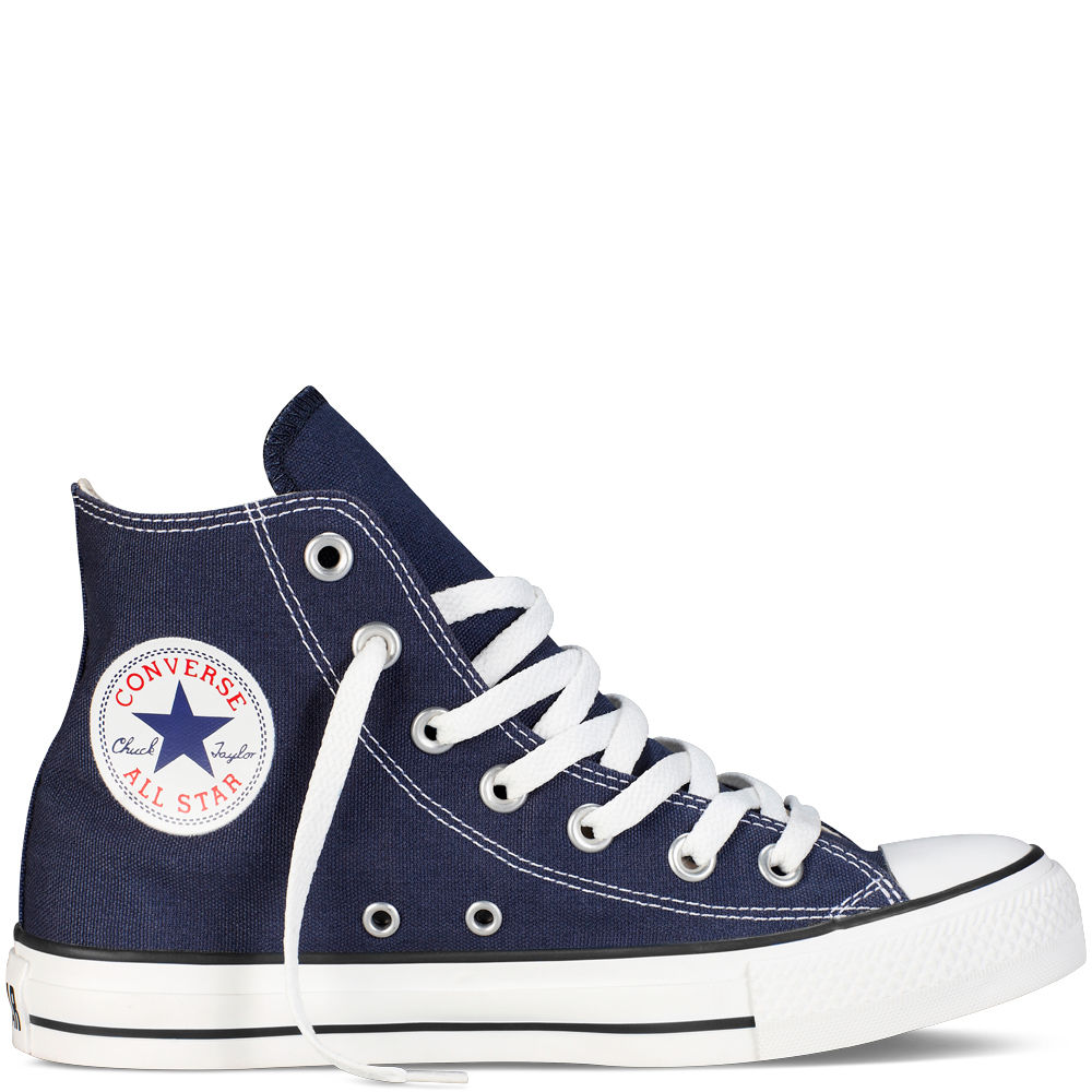 2ae3346d648c1 CONVERSE CHUCK TAYLOR ALL STAR HI SNEAKERS M9622C - CLASSIC NAVY ...