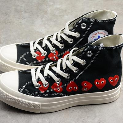 51d44e8065bcbc Converse cdg x converse chuck taylor 70s hi∕ox 18ss high shoes - Thumbnail 3