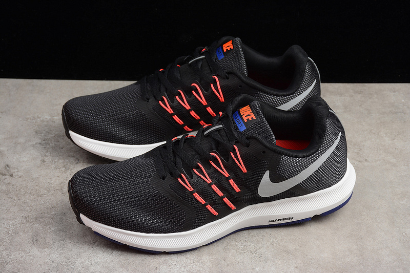 c63209e4ac66df Nike Run Swift Black Matte Silver Running Shoes on Storenvy