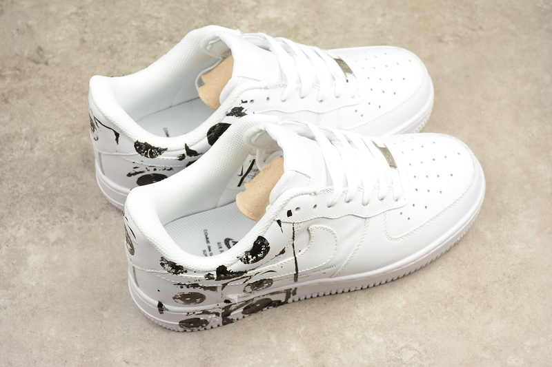 3f71d9d999e Supreme x CDG x Nike Air Force 1  07 white AF1 Shoes 923044-100 ...