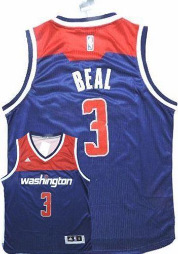 huge sale c395e 6e47b Wizards #3 Bradley Beal Navy Blue Alternate Stitched NBA Jersey sold by  NBAJerseysales1
