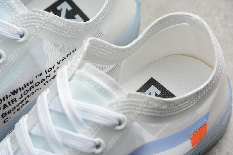 da371c8e8a2966 Off-White x Vans Old Skool Transparent White VN-OXH7DVD on Storenvy
