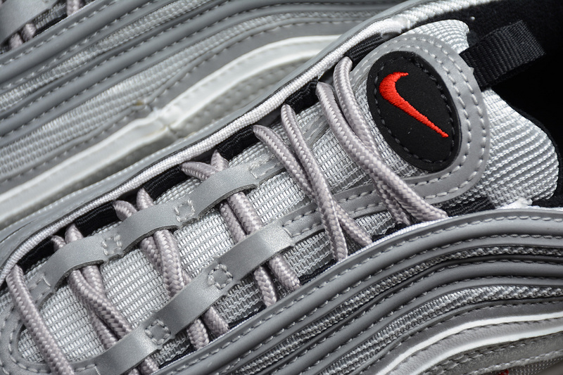 19e8b83fa07 ... Nike Air Max 97 OG QS Silver Bullet Shoes 884421-001 - Thumbnail 2 ...