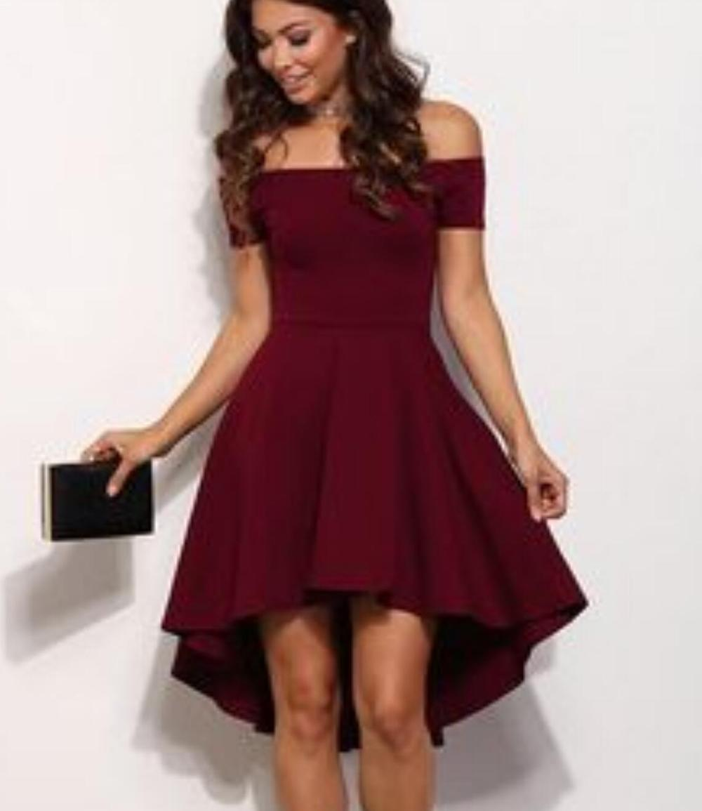 5d41c4b2664a38 Off Shoulder Burgundy Cheap 2018 Homecoming Dresses Under 100, CM396 on  Storenvy