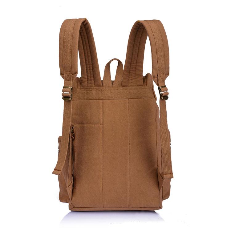 b8c31f8c9a Vintage Brown Scrub Large Travel Men s Canvas Backpack on Storenvy
