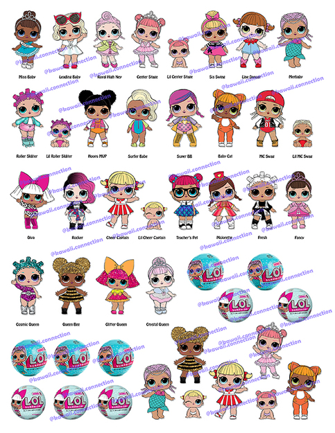 Digital Download of LOL Surprise Dolls Series 1-3 + Pets sold by Kawaii  Connection