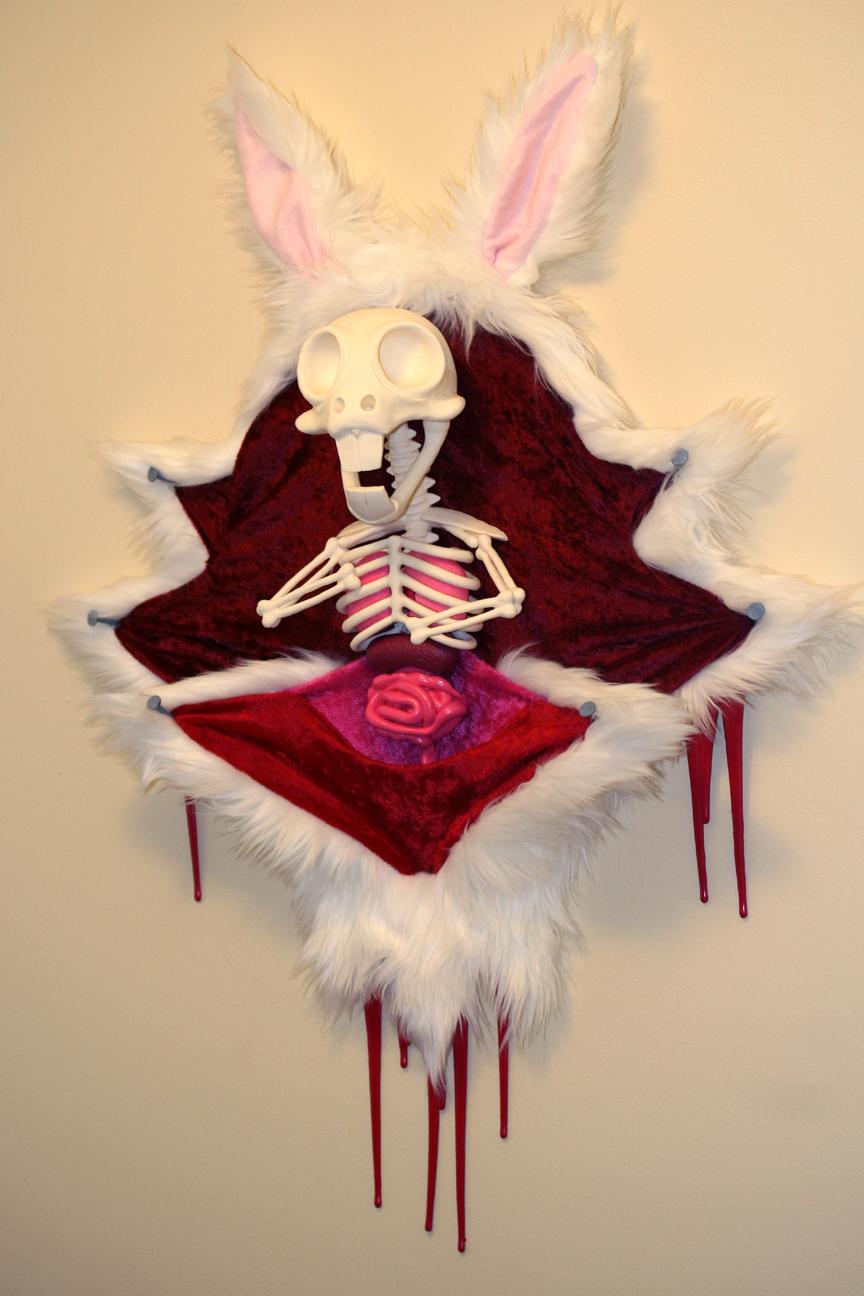 Pure Sculpting Chaos Fluttershys Dead Animals White Rabbit