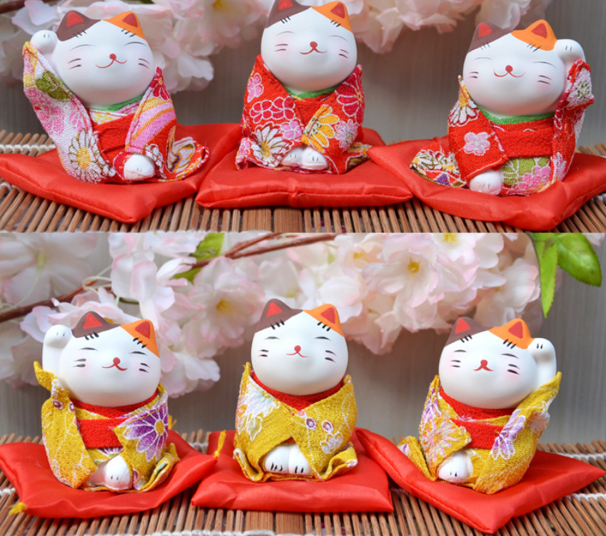 Mini cute Japanese kimono catwalks car dresses small business wedding gifts  creations