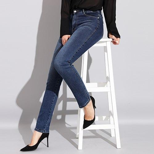 b8e0dff22bd Autumn Winter Slim Skinny Jeans Woman High Waist Denim Elastic ...