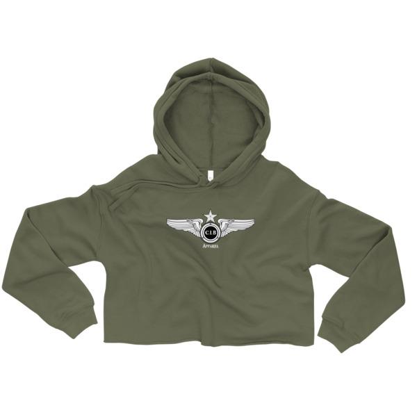 dd517a7e9d9 Flight Club Crop Hoodie · Can I Beat Apparel · Online Store Powered ...