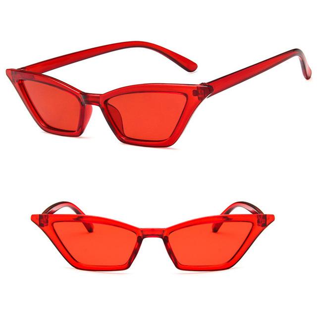 f59e8f125037 Red cat eye retro vintage sunglasses on Storenvy