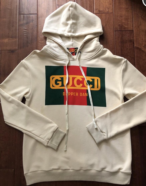 b4b37e04a8a ... Women s GG   DAPPER DAN COLLAB logo hoodie sweatshirt - Thumbnail ...