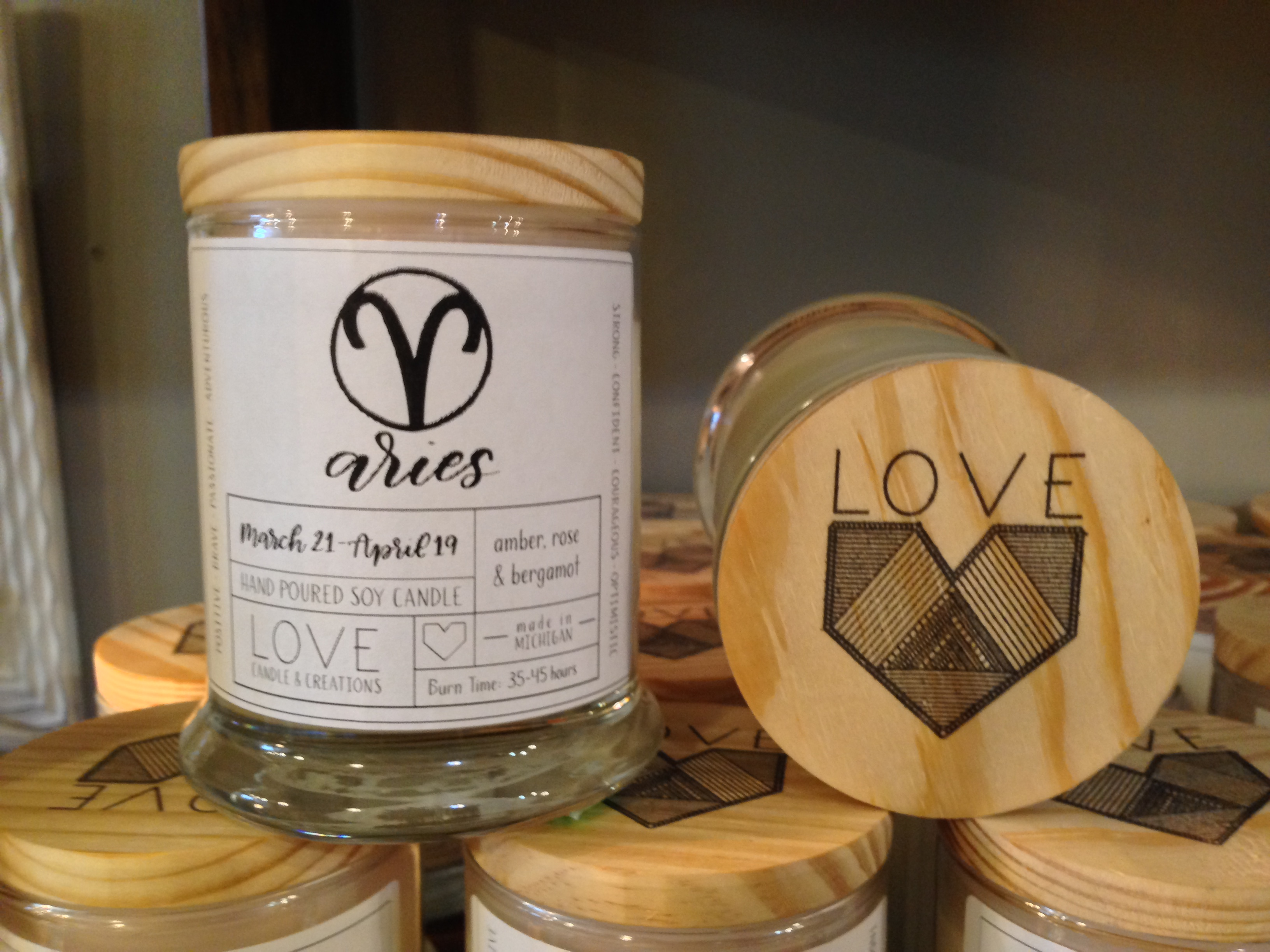 LOVE CANDLES -