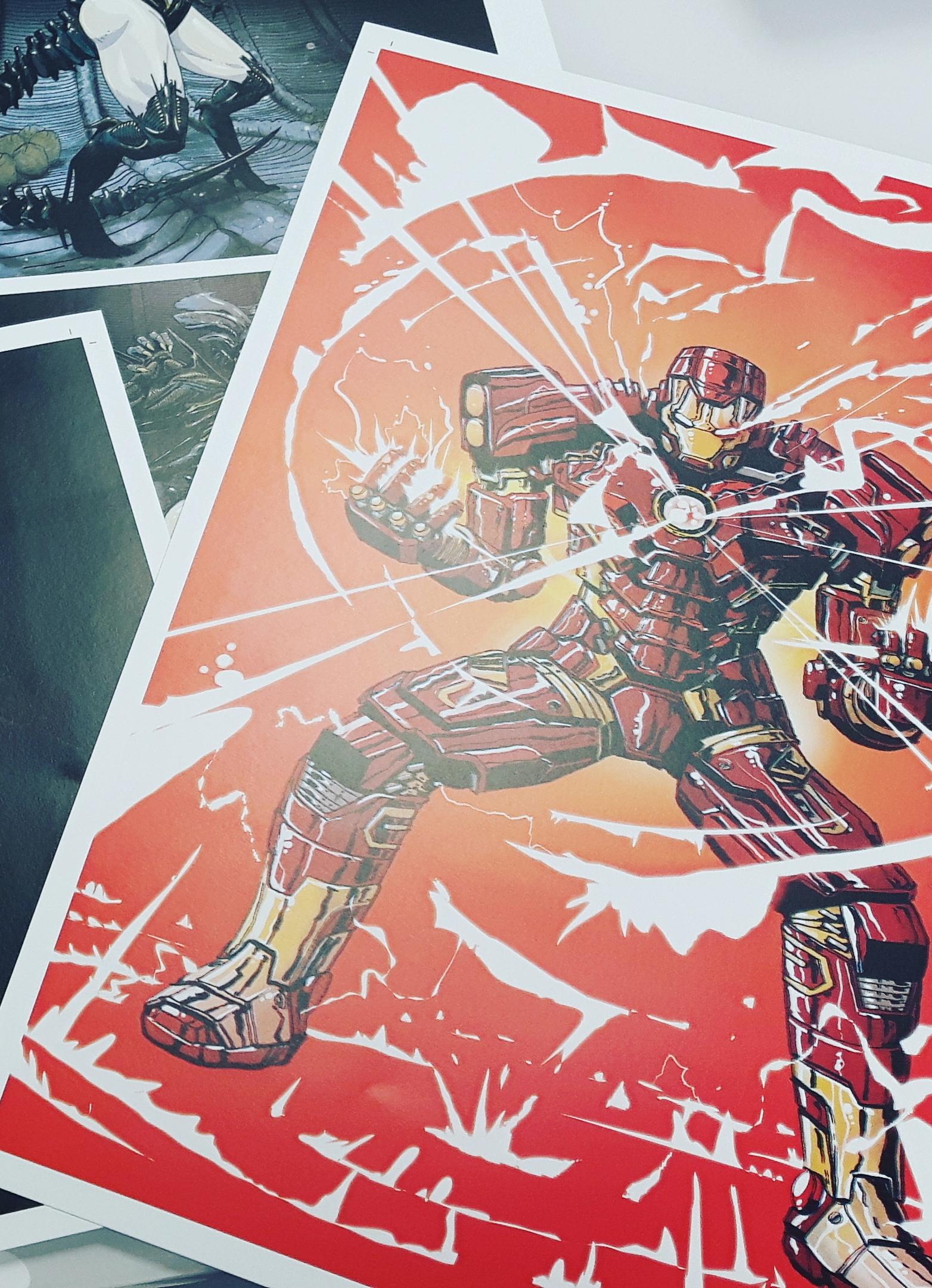 IRON MAN fan art poster from RodrigoShop
