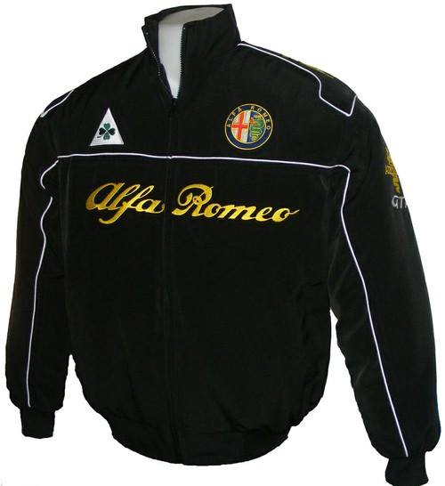 Alfa Romeo Jacke Alfa Romeo Jacket Black Pro Fashion