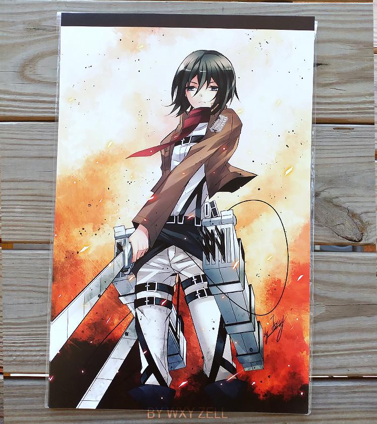 Attack On Titan Shingeki No Kyojin Mikasa Ackerman Poster 11 X17