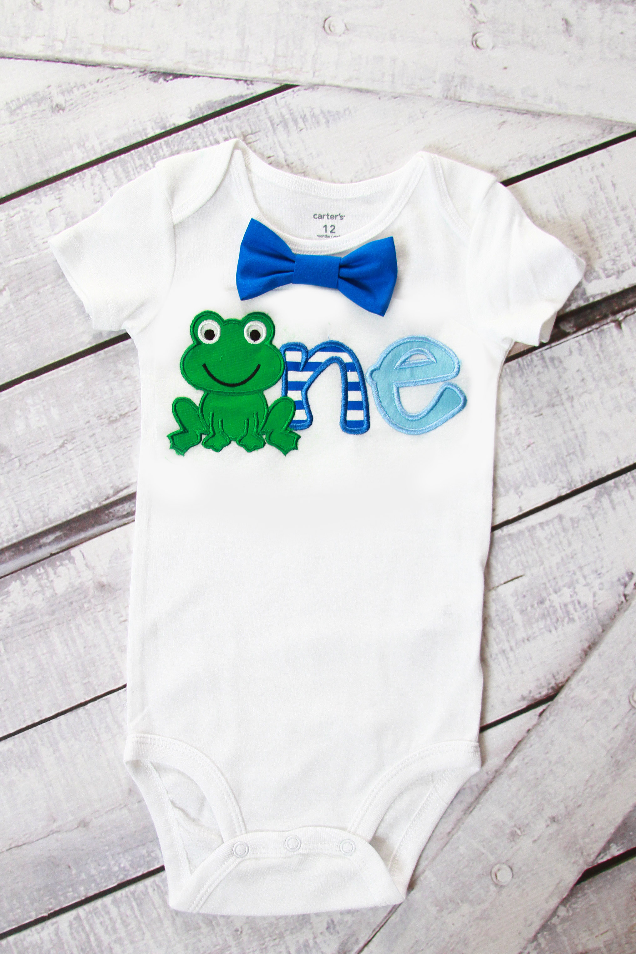 8284d88a37a7 Baby boy first birthday Frog outfit cake smash bodysuit personalized ...