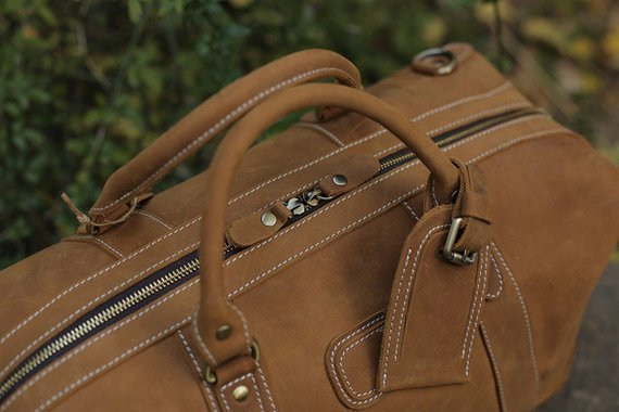 b6ccd94e4 Handmade Full Grain Distressed Leather Duffel Bag Weekend Bag Overnight Bag  Holdall Luggage Bag Travel Bag ...
