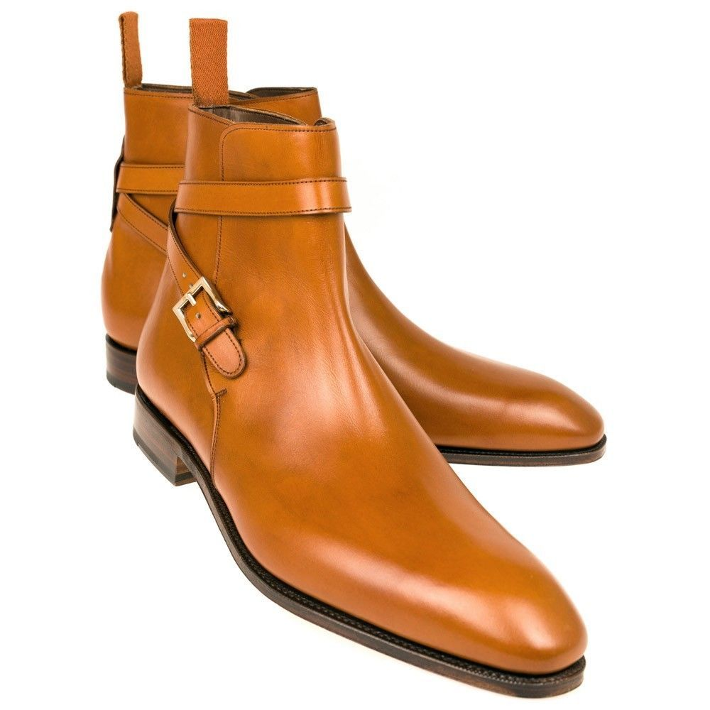 780fd2ac834 Handmade Men Jodhpurs ankle boots, Men leather boots, Men monk strap boots  from Rangoli Collection